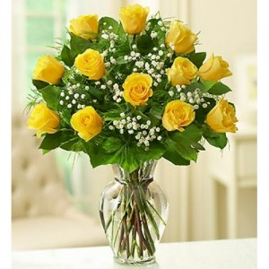 Dozen Yellow Roses Roses