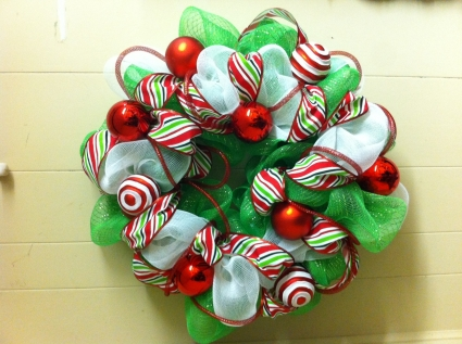 dr seuss christmas christmas wreath