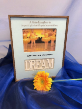 Dream frame Engraved personalized gift
