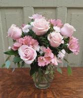 Dream Softly Vase Arrangement