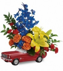 Dream Wheels '65 Ford Mustang with Lilies