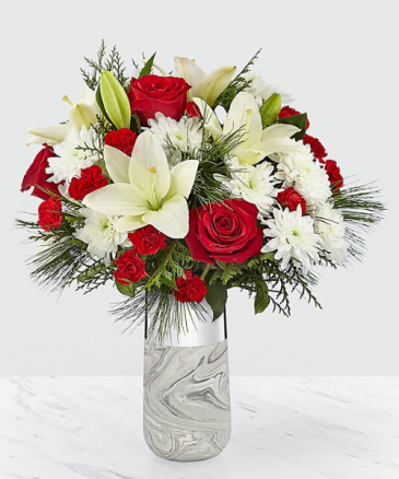 Dreaming Bouquet fresh arrangement in keepsake container