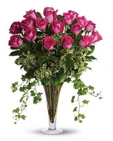Dreaming in Pink Long Stemmed Pink Roses