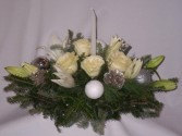 DREAMING OF A WHITE CHRISTMAS CENTERPIECES Christmas Roses, Arrangements   Christmas Centerpieces, Christmas Roses and Flowers Arrangements,