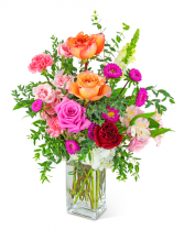 Dreaming of Roses Flower Arrangement