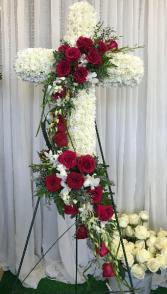 Dreaming Path Cross Wreath
