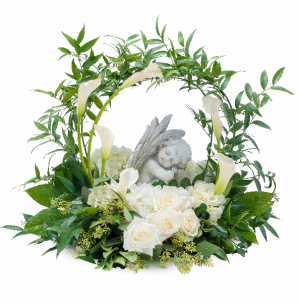Dreaming with Angels Wreath in Swannanoa, NC | The Asheville Florist