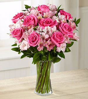 Dreamland Pink Bouquet by FTD  in Valley City, OH | HILL HAVEN FLORIST & GREENHOUSE
