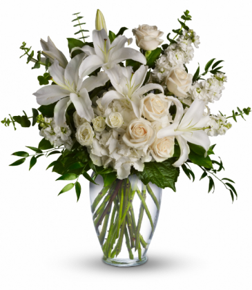 Dreams From the Heart Bouquet One-Sided Floral Arrangement