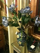 Dreamy Blue Vase In our Antiques & Gift Shop