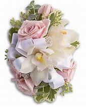 Dreamy Pink Wristlette Prom Corsage