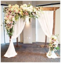 Dressed Wooden Arch