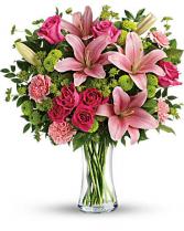 Dressed to impress vase arrangement