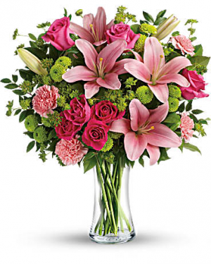 Dressed to impress vase arrangement in Berkley, MI | DYNASTY FLOWERS & GIFTS