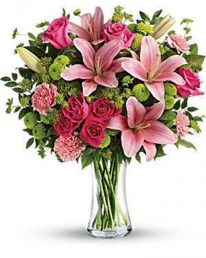 Dressed to impress vase arrangement in Berkley, MI | DYNASTY FLOWERS & GIFTS