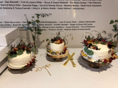Dried Cake Flowers