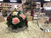 Drink in the Love  Reception Table Centerpieces