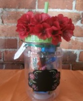 DRINK TUMBLER WITH CANDY
