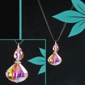 Drop Crystal Necklace Jewellery