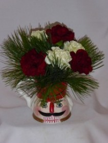THE LITTLE DRUMMER BOY  Holiday Season Arrangements.   Prince George BC Flowers:   AMAPOLA BLOSSOMS