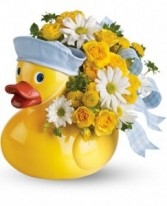 Ducky Delight - Boy New Baby Arrrangement