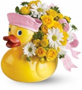 Ducky Delight For Baby Girl