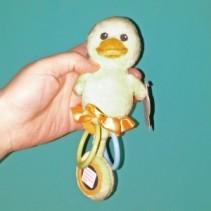 Ducky Rattle Plush