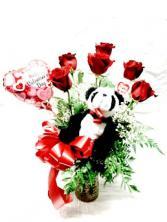 Duryea's 1/2 Dozen Roses Special - Valentine's Day