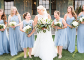 Dusty Blue  Bridal Bouquet