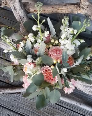Dusty Pink Perfection Wedding Bouquet Wedding Bouquet in Key West, FL | Petals & Vines