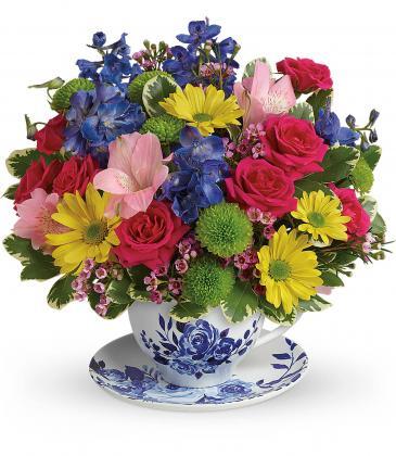 Dutch Garden Bouquet Fresh Arrangement