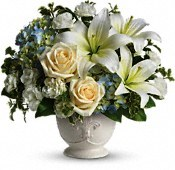 DV-422 Sympathy Arrangement in Naples, FL | DYNASTY FLOWER SHOP