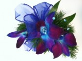 Bold Blue Bom Corsage T&V Exclusive