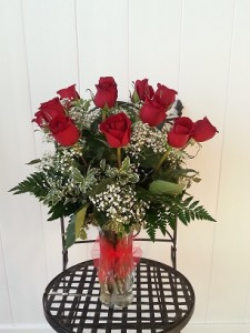 Pop's Dz. Red Roses (50c) Special! Exclusively at Mom & Pops in Ventura, CA | Mom And Pop Flower Shop