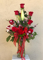 Dz Rose Vase