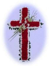Cross Cross on an Easel