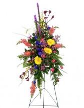 Colorful Garden Easel