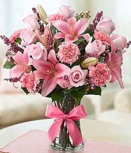Expressions of Pink 105015  in Orlando, FL | Artistic East Orlando Florist