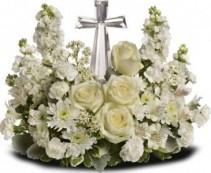 Pedestal cross