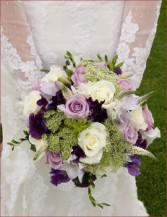 Garden Wedding/ Purples+Greens