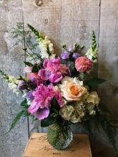 Early Blooming Peonies floral arrangement
