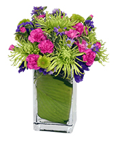 EARLY SPRING GREEN Flower Arrangement