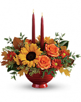 Earthly Autumn Table Centerpiece