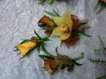 Earthly Corsages/Boutonniere Wedding/Prom