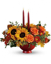 Earthy Autumn Centerpiece Fall Centerpiece