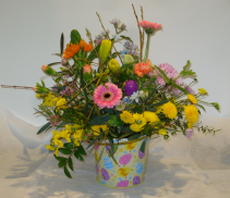 EASTER GREETINGS Fresh arrangement