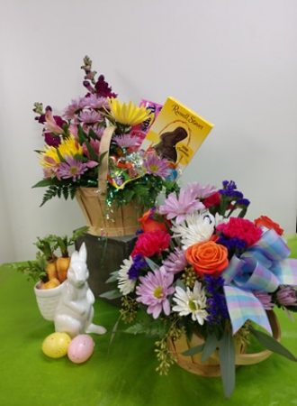 Easter Basket Fresh Arrangement