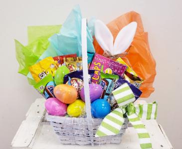 Easter Basket Candy Arrangement