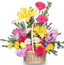 Easter Basket Easter Arrangement