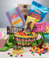 Easter basket of Goodies Gift basket